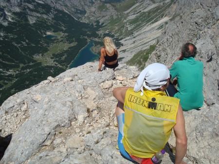 Pogled na Škrčko jezero s Bobotovog kuka