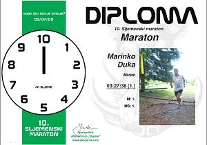10. Sljemenski maraton – diplome su online