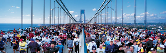 New York Marathon bridgeimage
