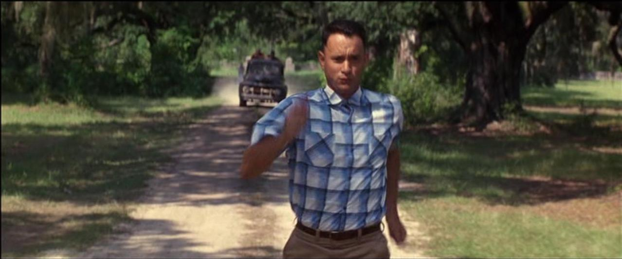 The world will never be the same once you've seen it through the eyes of Forrest Gump