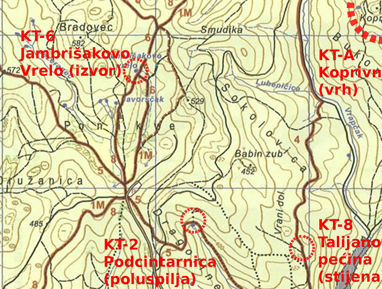 Trek Kameni svatovi 2012. – karte i opisi staza